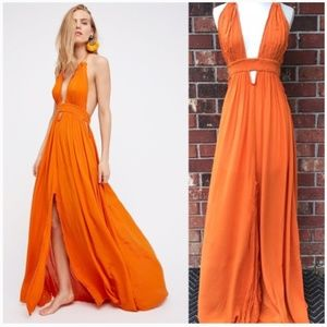 "Free People ""Look Into the Sun"" Maxi Dress (XS)"